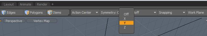 symmetry modo