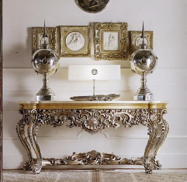 Мебель в стиле барокко и рококо