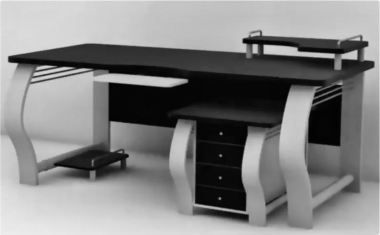 Моделирование компьютерного стола | Mymodo.ru