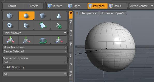 sphere modo