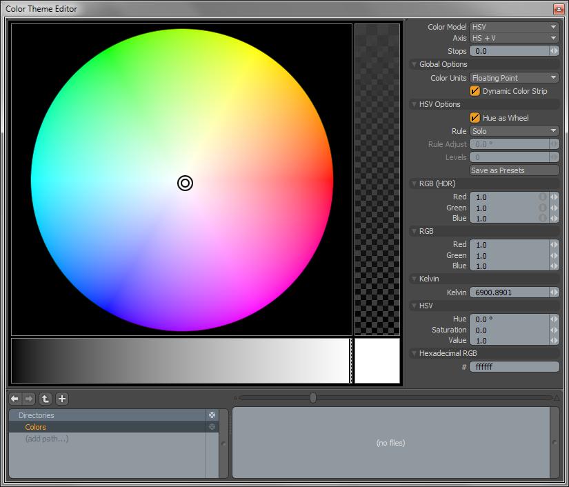 Color Model (Цветовая Модель):