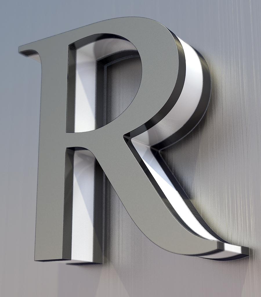 картинки красивая буква р
